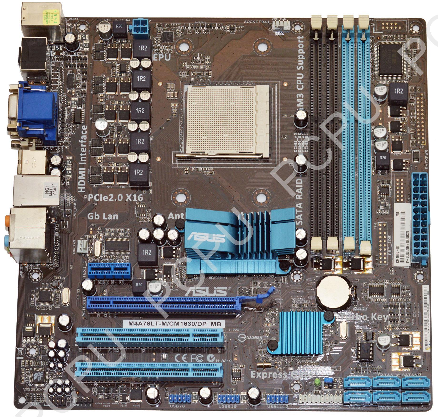 ASUS 61-MIBBJ5-01 ASUS Essentio CM1630 AMD Desktop Motherboard AM3